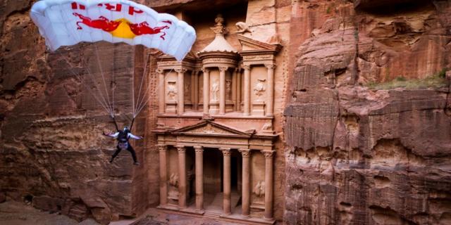 Kayıp Kent Petra'da BASE Atlayışı!