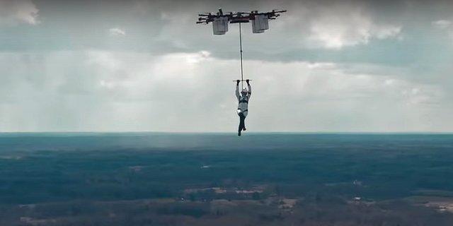 Drone'lar artık hayatlara iyiden iyiye nüfuz etmeye başladı...