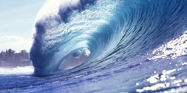 Dünyanın ünlü sörf noktalarından biri