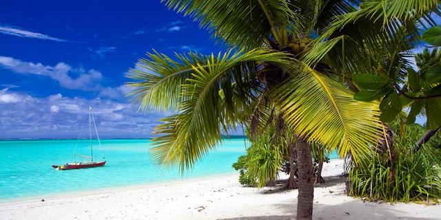 Cook Adaları'ndan biri
