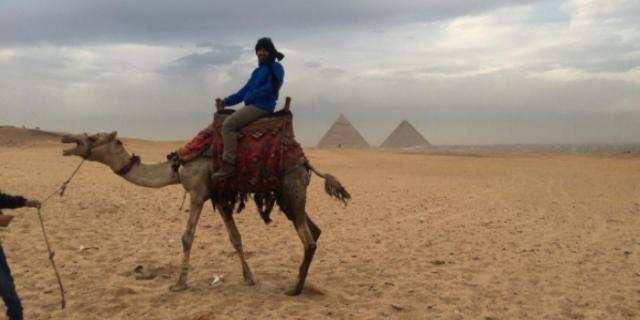 Mısır'da deve turu…