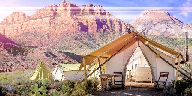 Bu kamp oldukça yeni