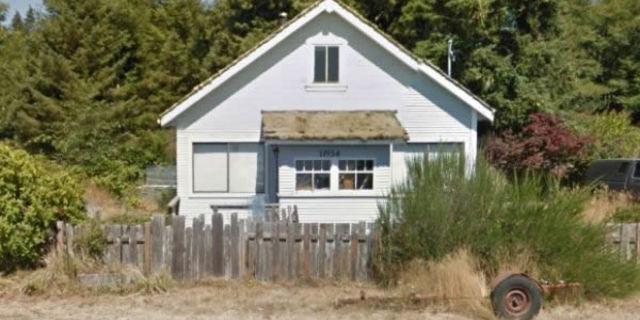 İşte Hugh'un evi
