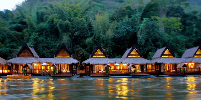 The Float House River Kwai Resort, Tayland