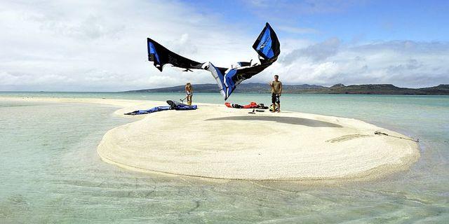 Venezuela'da kiteboard için pek çok ideal bölge var: