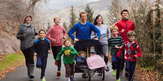 İşte Utah ailesi