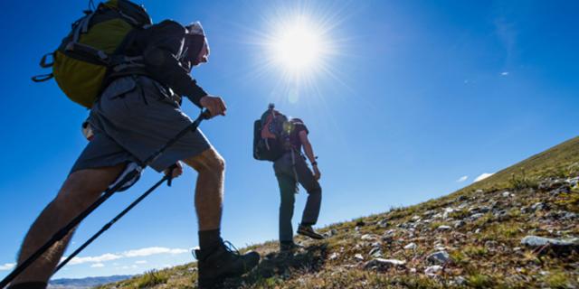 İnişli çıkışlı tepeler, bisikletçilerin bacaklarını yürürken de güçlendiriyor