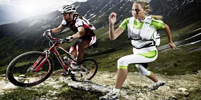 Koşu ve bisiklet ideal bir ikili