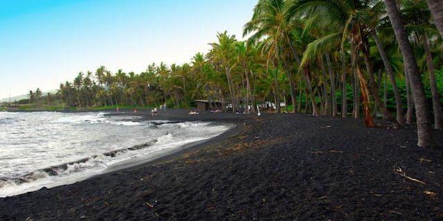 Punalu'u Kara Kum Plajı