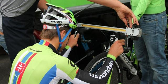 Peter Sagan bile bike fit'e bu kadar özen gösteriyor