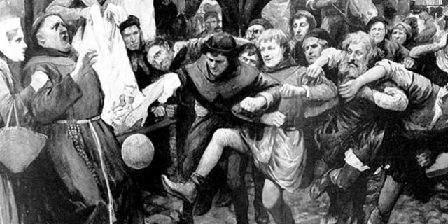 Mob Football yani Mafya Futbolu'na dair bir çizim