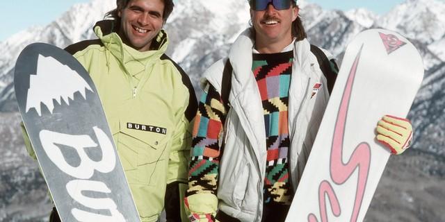 80'lerde snowboard