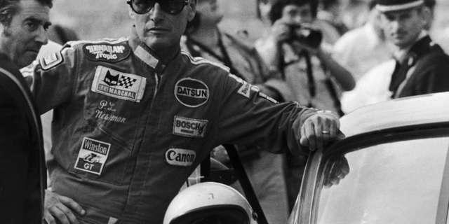 Paul Newman Le Mans'ta