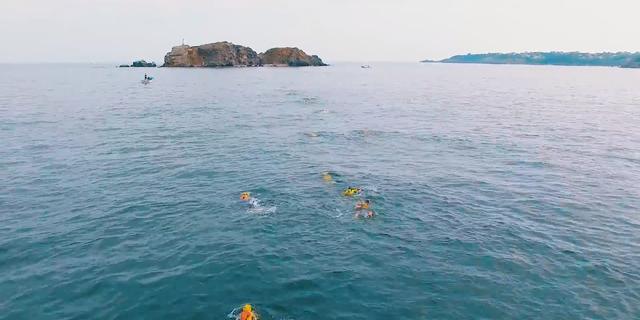 Turkiye nin ikinci swimrun yarismasi swimrun riva - 7921