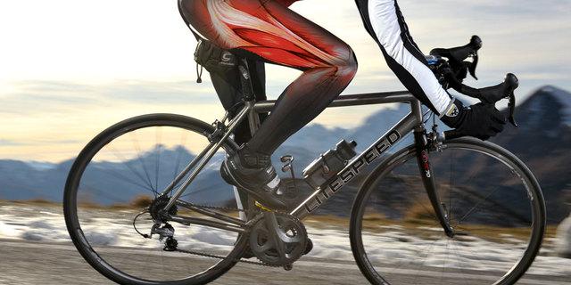 Dizlerin bisiklet sürüşünde zorlandığı aşikar