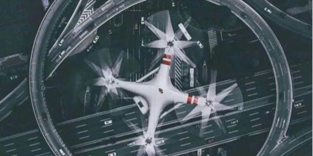 Acaba diğer drone bu drone'u nasıl çekmiştir?
