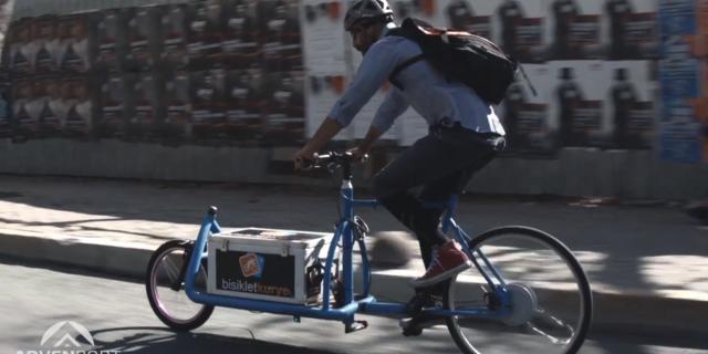 Bisikletli Kurye'nin kurucusu: Serkan Ercan
