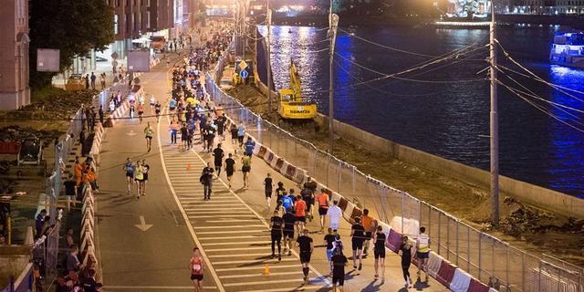 Gece koşmak için ideal bir yer