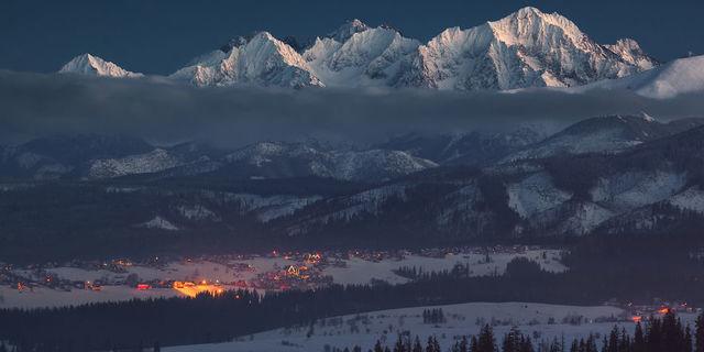 Polonya dağları ve...