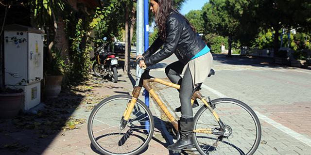 El yapımı, yerli bambudan bisiklet: Caretta!