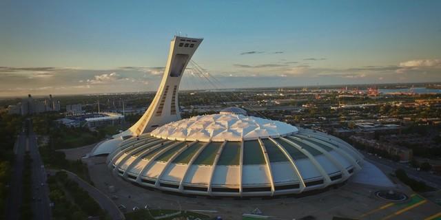Montreal Olimpiyat Stadyumu hala faal olarak kullanılıyor