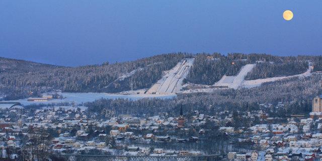 Lillehammer'den bir kare