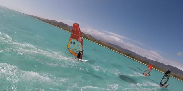 Lena erdil vlog 4 swimming pool windsurfing - 8197