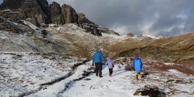 Kış soğuğunda yürümek aslında epey faydalı
