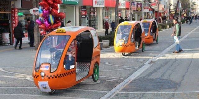 Bisiklet taksiler aramızda