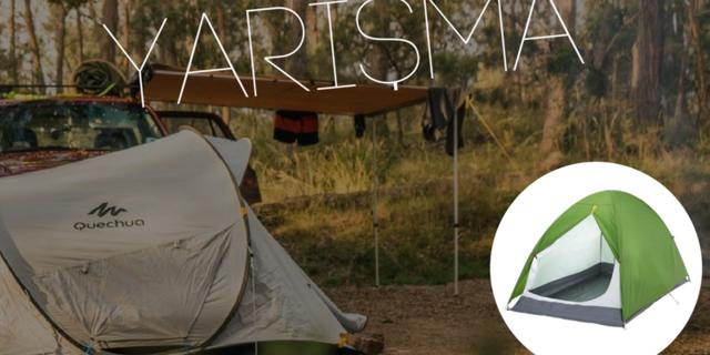 Macera Benim yarışmamızda Quechua markalı çadır kazanabilirsiniz!