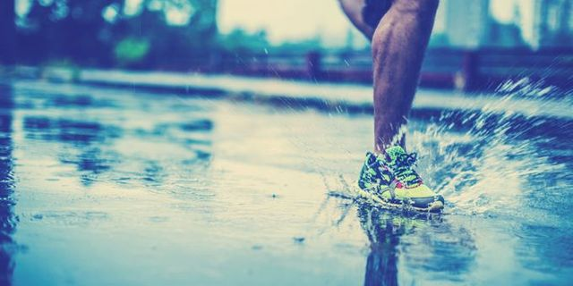 Gerçek bir koşucuyu hiçbir şey durduramaz