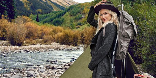 Kate Hudson doğa yürüyüşünde