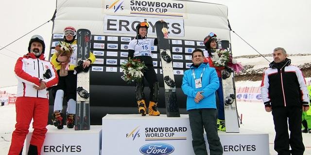 Erciyes'teki Ford Snowboard Dünya Kupası'nın ardından