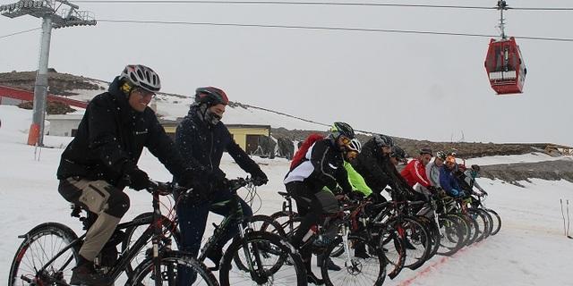 Erciyes'te karlar üzerinde ikinci kapışma!