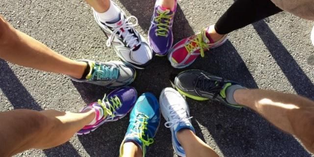 Grup koşularında hem destek hem rekabet bulursunuz