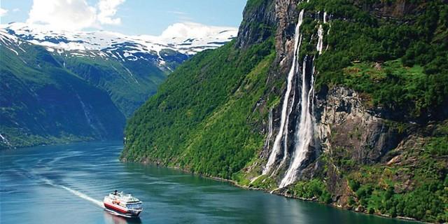 Kartpostallara layık pozlar vermede Norveç gerçekten bir marka