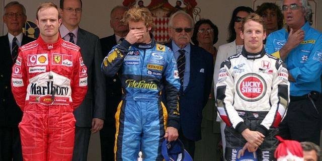 2004 Monaco GP podyumu