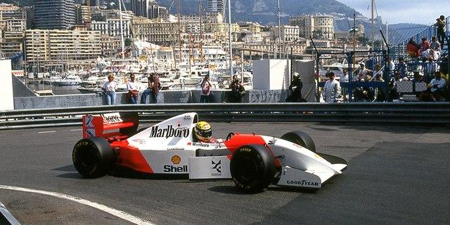 Ayrton Senna, Monaco'da
