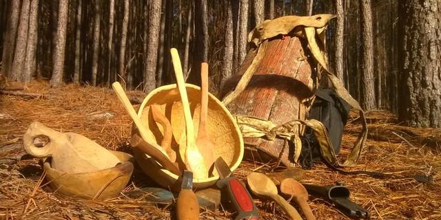 Bushcraft sizi bir süre sonra, dinlenme tesislerinde tahta kaşık satmanızı sağlayacak kadar yetenekli hale getirebilir!