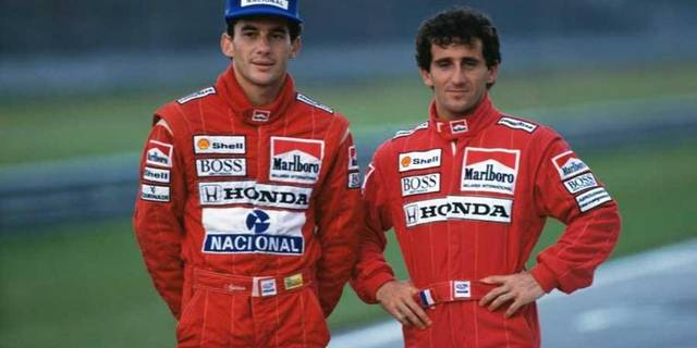 Ayrton Senna ve Alain Prost