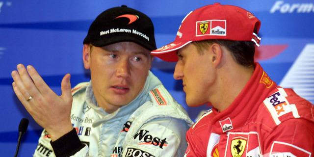Schumacher ve Hakkinen