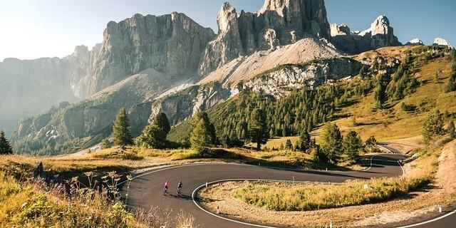 Bisiklet sizi böyle manzaraların için atıverir