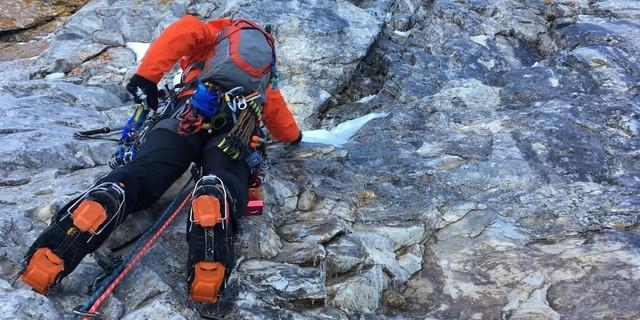 """""""Kazma krampon kullandığımız buz ve mix(kar,buz,kaya) tırmanışlarda daha çok keyif alıyoruz."""""""