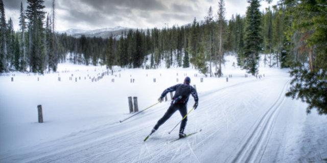 Hayır kayaklı koşu değil