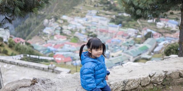 Küçük Chow Everest yollarında