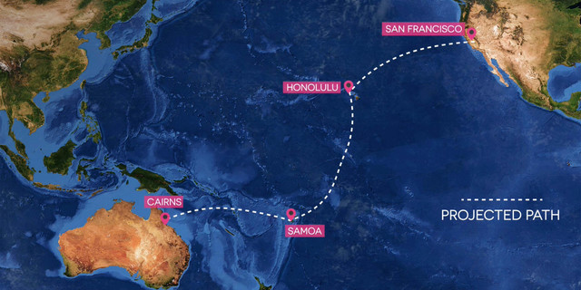 Pasifik Okyanusu Geçişi
