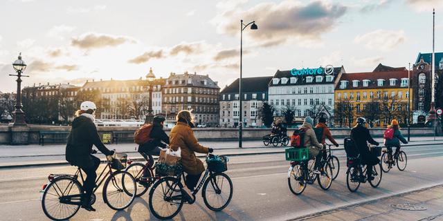 Şehirde sadece bisiklet trafiğinin olduğunu düşünün...
