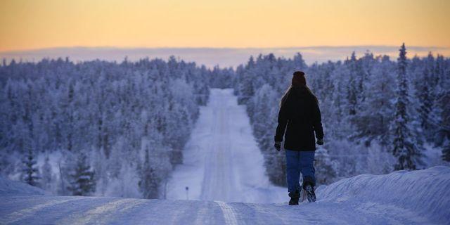 Finlandiya'da kışlar uzun sürüyor