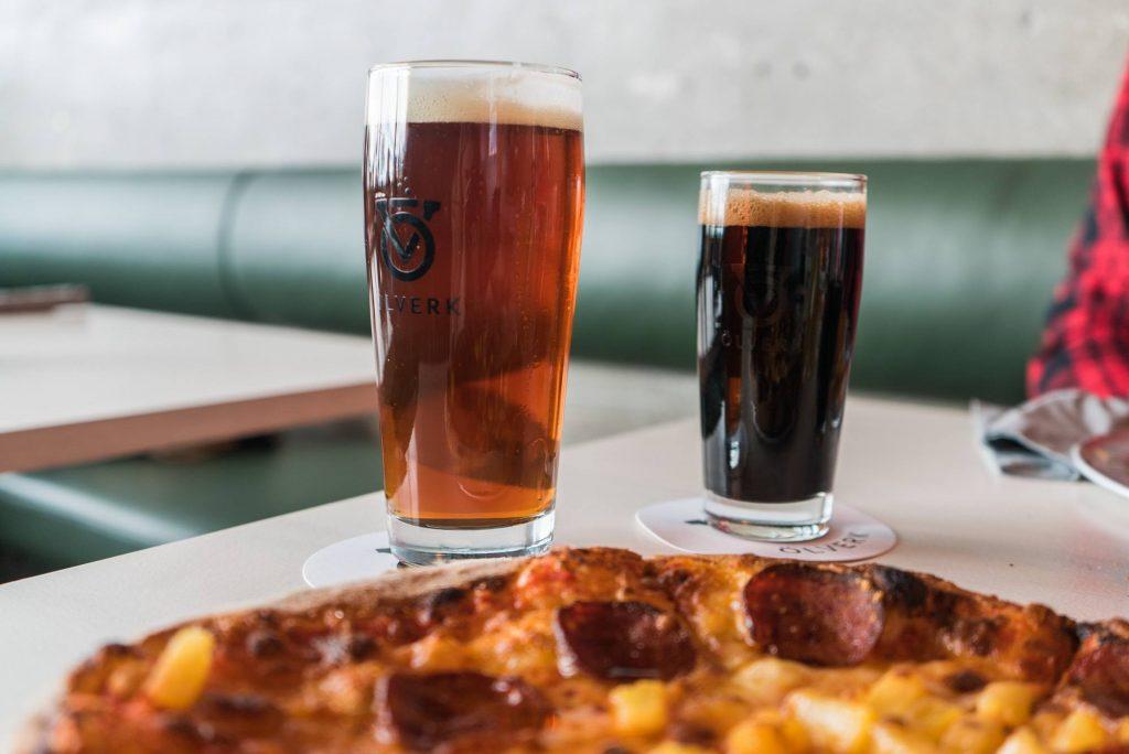 Olverk restaurant, pizza and beer