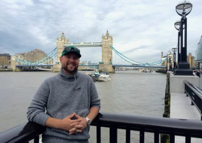London - Danan with Tower Bridge
